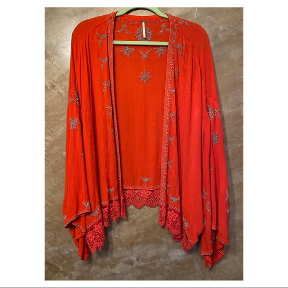 Free People wide sleeve tunic